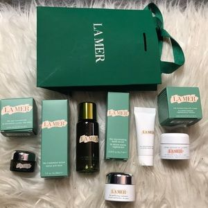 New LA MER 5pc Mini Deluxe Sample Set